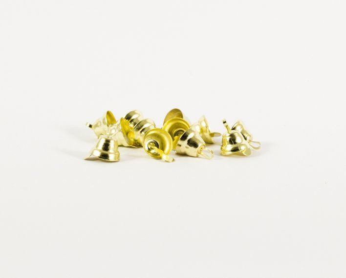 Askaretta Joulu Kello Kulta Pieni 3444