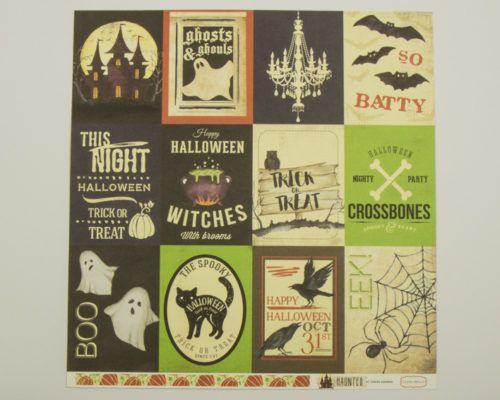 Askaretta Kartongit Teemat Halloween Cartabella Haunted1a 4093