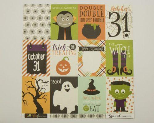 Askaretta Kartongit Teemat Halloween Echo Journalingcards 4091