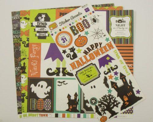 Askaretta Kartongit Teemat Halloween Echopark Set2 4099