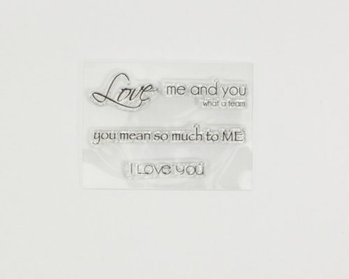 Askaretta Leimasin Love 3 890