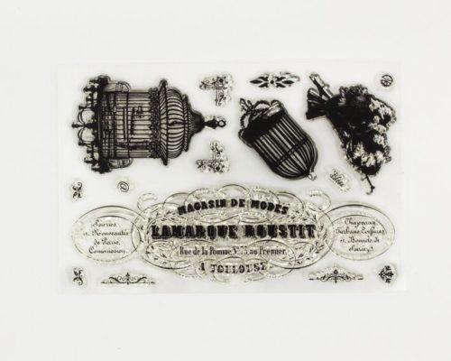 Askaretta Leimasin Romance Stamp 894