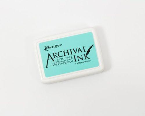 Askaretta Leimasintyyny Achival Aquamarine 1171