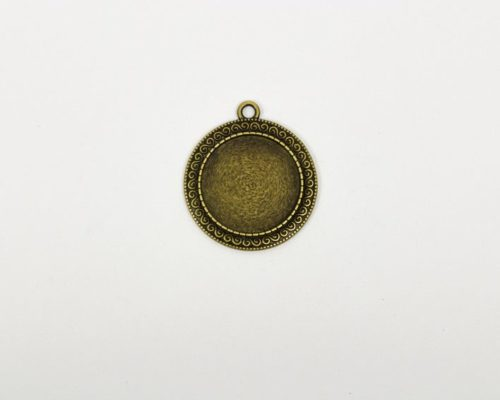Askaretta Metalli Kapussipohja Pyorea Pronssi Paksu 1534