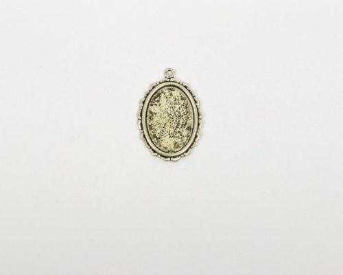 Askaretta Metalli Kapussipohja Soikea Patina 1528