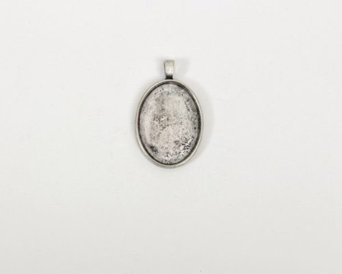 Askaretta Metalli Kapussipohja Soikea Perus Hopea 1529