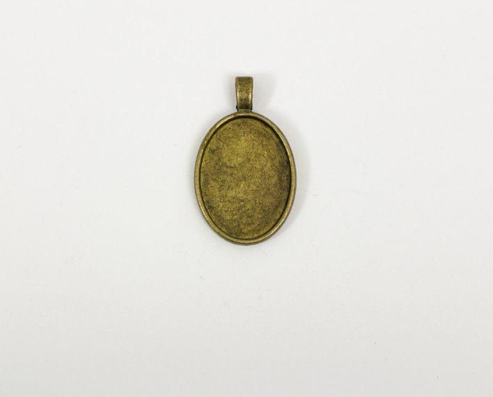 Askaretta Metalli Kapussipohja Soikea Perus Pronssi 1531