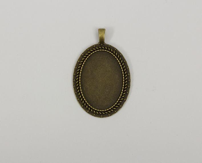 Askaretta Metalli Kapussipohja Soikea Pronssi Paksu 1535