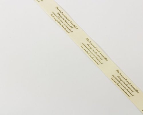 Askaretta Nauha Ruskea Teksti 1229