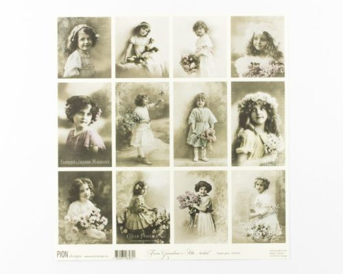 Askaretta Paperit Pion Kuva Folwer Girls 690
