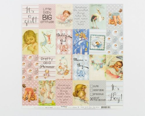 Askaretta Paperit Reprint Baby Collection 669
