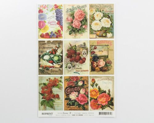 Askaretta Paperit Reprint Piirroskuva Kp0004 531