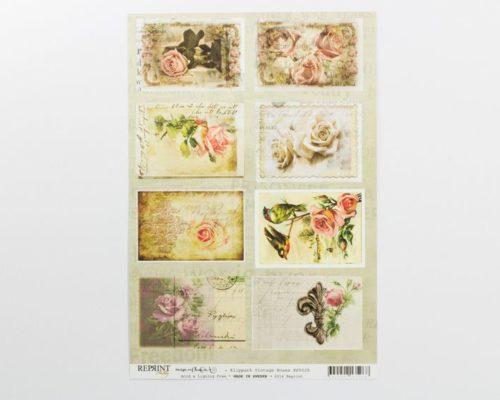 Askaretta Paperit Reprint Piirroskuva Kp0028 527