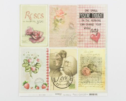 Askaretta Paperit Reprint Romance Labels 663