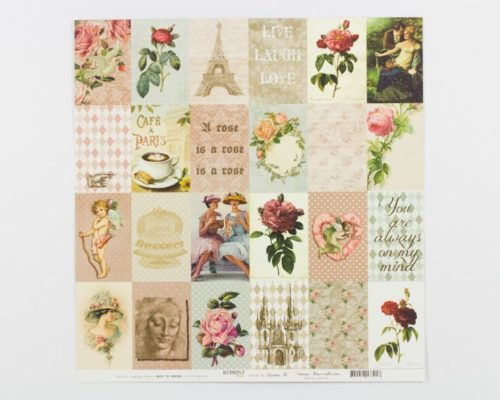 Askaretta Paperit Reprint Rose Collection 666
