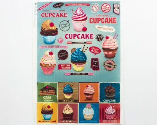 Askaretta Paperit Riisipaperi Cupcake 0091 722