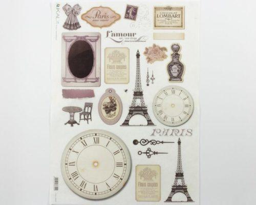 Askaretta Paperit Riisipaperi Paris 0034 733