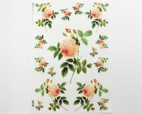 Askaretta Paperit Riisipaperi Vaal Ruusu 0035 730