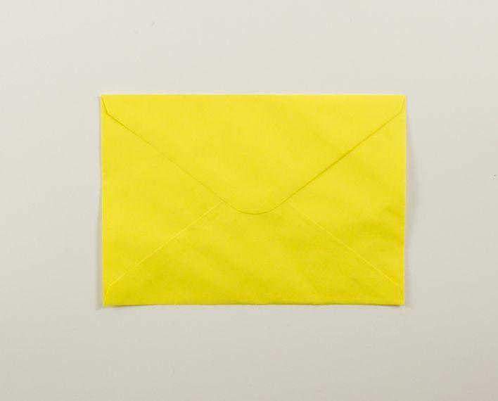 Askaretta Paperitkartongit Kirjekuoret C6 Keltainen 4309