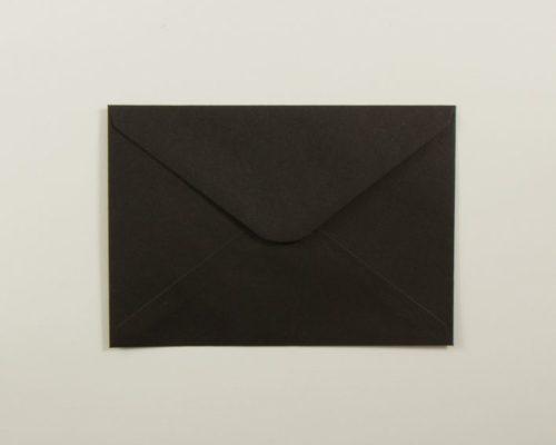 Askaretta Paperitkartongit Kirjekuoret C6 Musta 4320