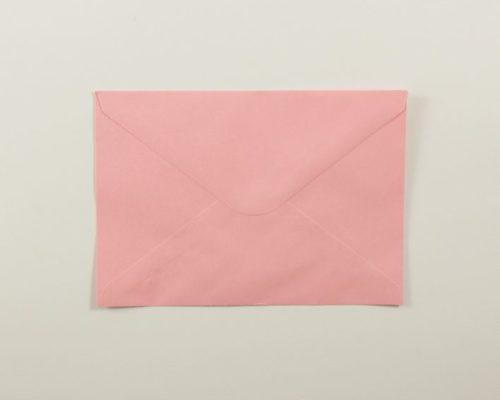 Askaretta Paperitkartongit Kirjekuoret C6 Vaaleanpunainen 4311