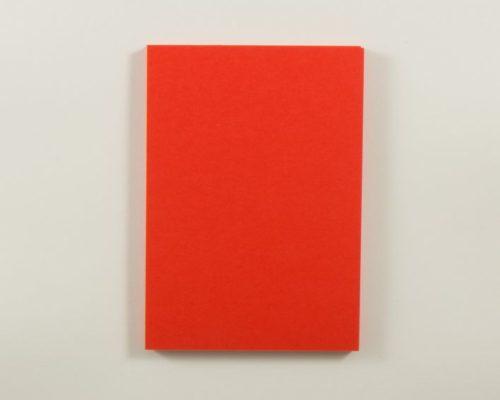 Askaretta Paperitkartongit Korttipohja A6 Korallinpunainen 4262