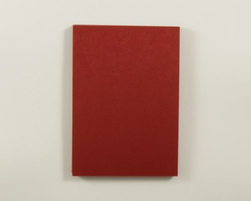 Askaretta Paperitkartongit Korttipohja A6 Tummanpunainen 4267