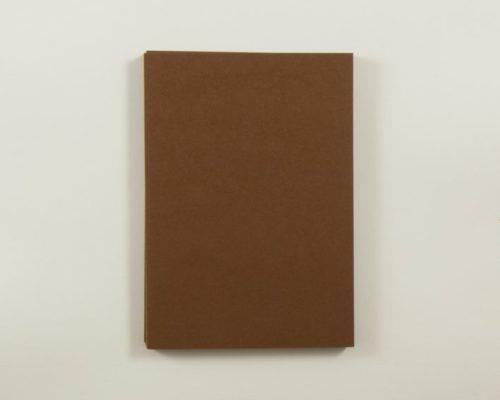 Askaretta Paperitkartongit Korttipohja A6 Tummanruskea 4293