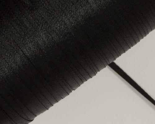 Askaretta Pitsitjanauhat Satiini 3mm Musta 3701