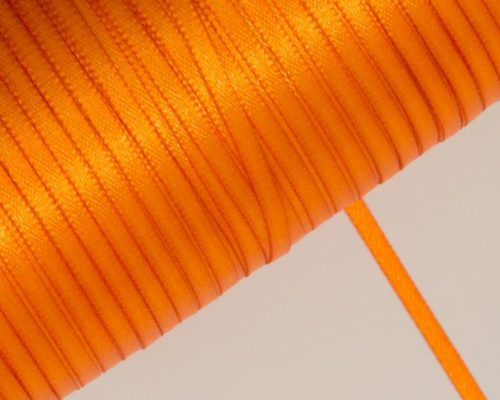 Askaretta Pitsitjanauhat Satiini 3mm Oranssi 3695