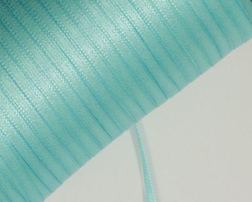 Askaretta Pitsitjanauhat Satiini 3mm Vedensininen 3704