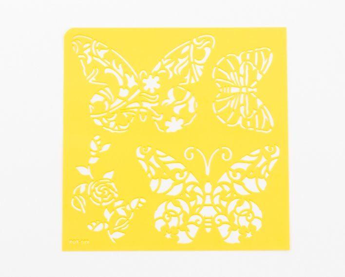 Askaretta Sapluuna Perhonen Keltainen 283