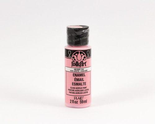Askaretta Varit Folk Art Enamel Pink 1762