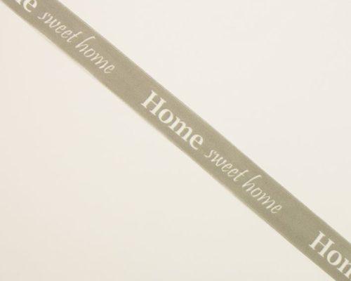 Askaretta Nauha Joulu Home Sweet Home Harmaa 4789