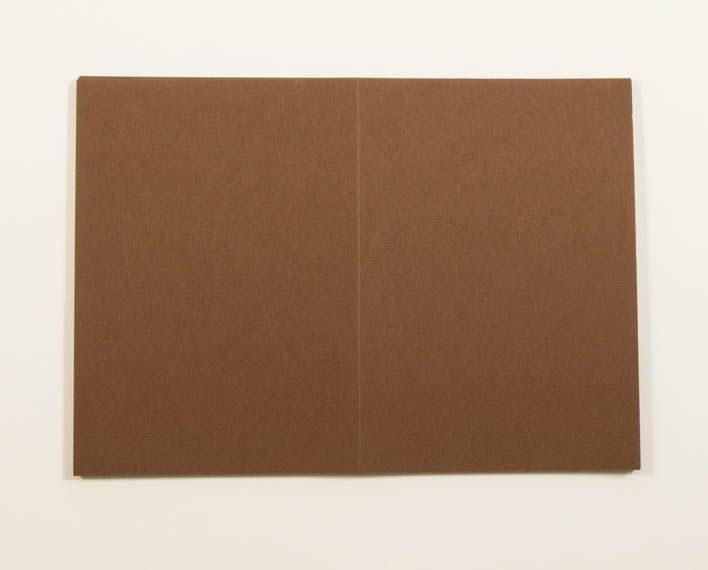 Askaretta Kartongit Korttipohja Os Ruskea 5418