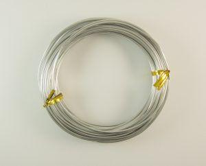 Askaretta Rautalangat Alumiini 2mm Hopea 5774