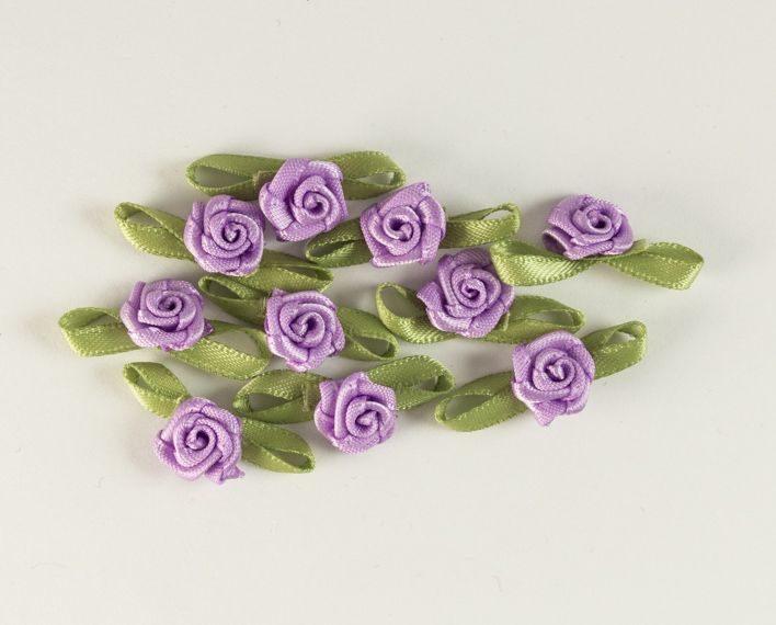 Askaretta Koristelu Miniruusut Violetti 6155