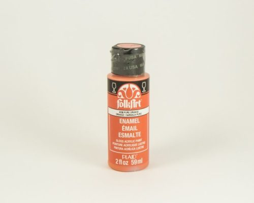 Askaretta Varit Folkart Enamel Orange 6058