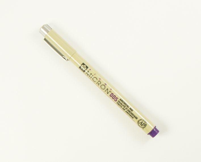 Askaretta Kynät Micron Violetti 005 6268