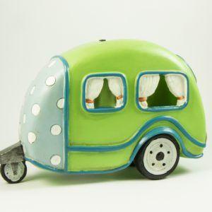 Askaretta Teemat Miniatyyri Asuntoauto Vihreä 6314