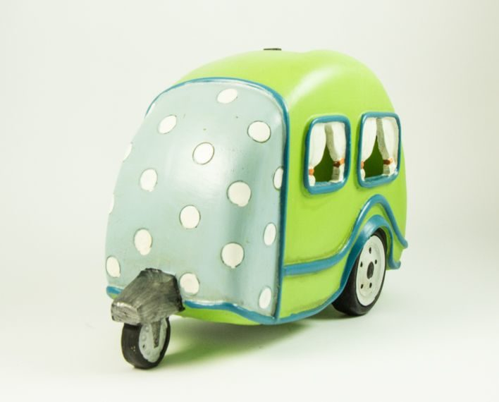 Askaretta Teemat Miniatyyri Asuntoauto Vihreä 6316