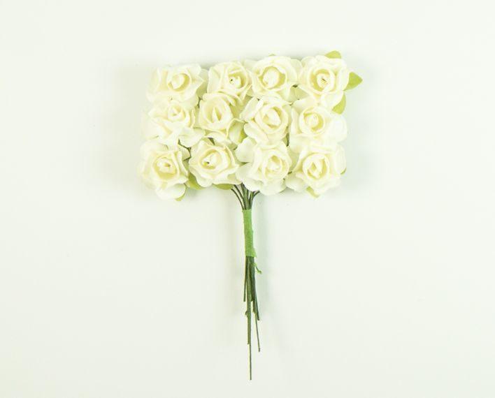 Askaretta Koristelu Kukka Valkoinen 6425