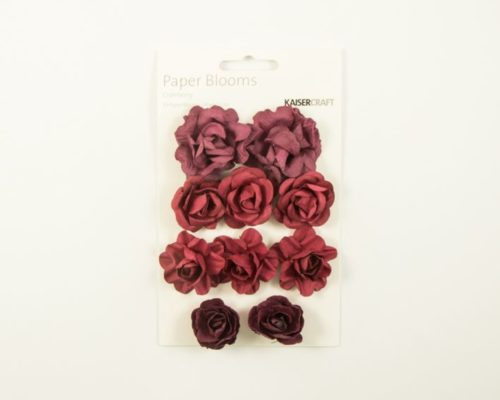 Askaretta Teemat Joulu Paperblooms Cranberry 6590