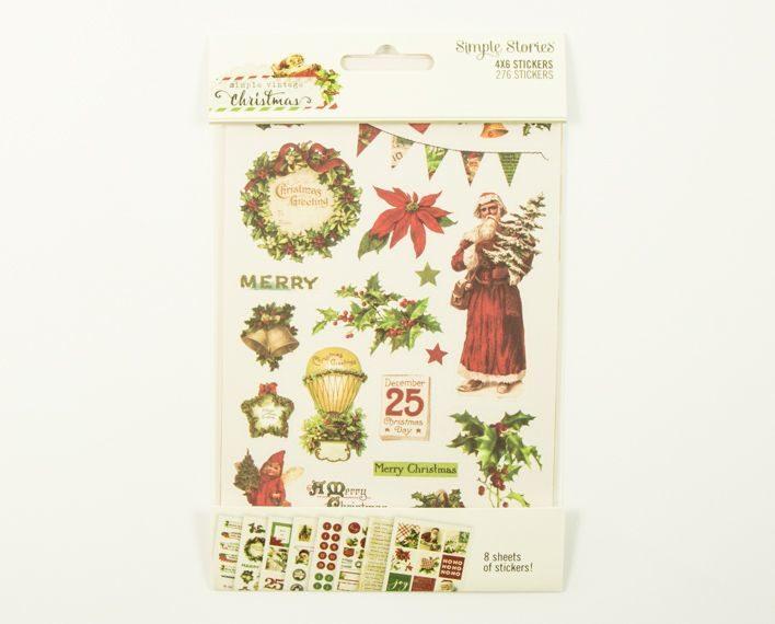 Askaretta Teemat Joulu Ss Stickers 276pc 6582