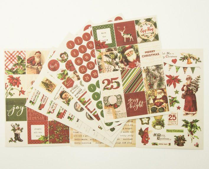Askaretta Teemat Joulu Ss Stickers 276pc2 6584