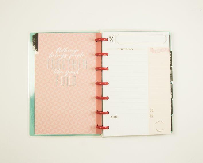 Askaretta Teemat Plannerit Mini Recipes 7406