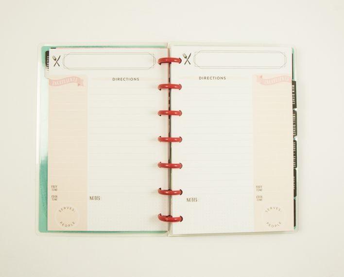 Askaretta Teemat Plannerit Mini Recipes 7407