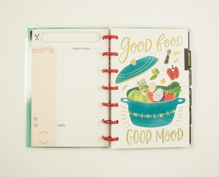 Askaretta Teemat Plannerit Mini Recipes 7409