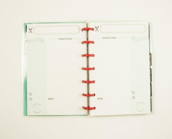 Askaretta Teemat Plannerit Mini Recipes 7411