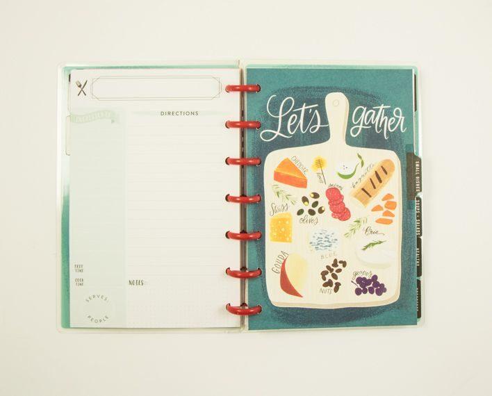 Askaretta Teemat Plannerit Mini Recipes 7413